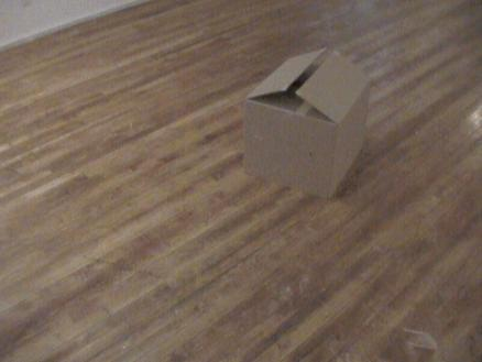 What's in the box?!: Inside this unassuming cardboard box sits an Internet-controlled robot with a camera and a range of sensors that keep it from destroying itself and those around it.
