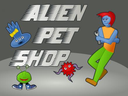 Alien Pet Shop